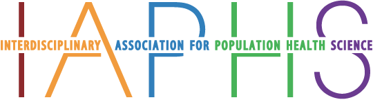 IAPHS – Interdisciplinary Association for Population Health Science Mobile Retina Logo