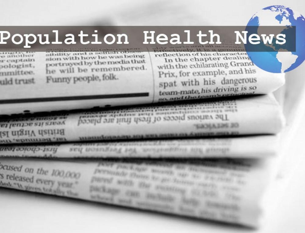 Population Health Round-up: November