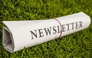 Newsletter rolled newsprint