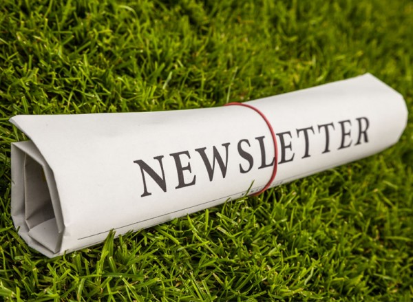 Newsletter rolled newsprint