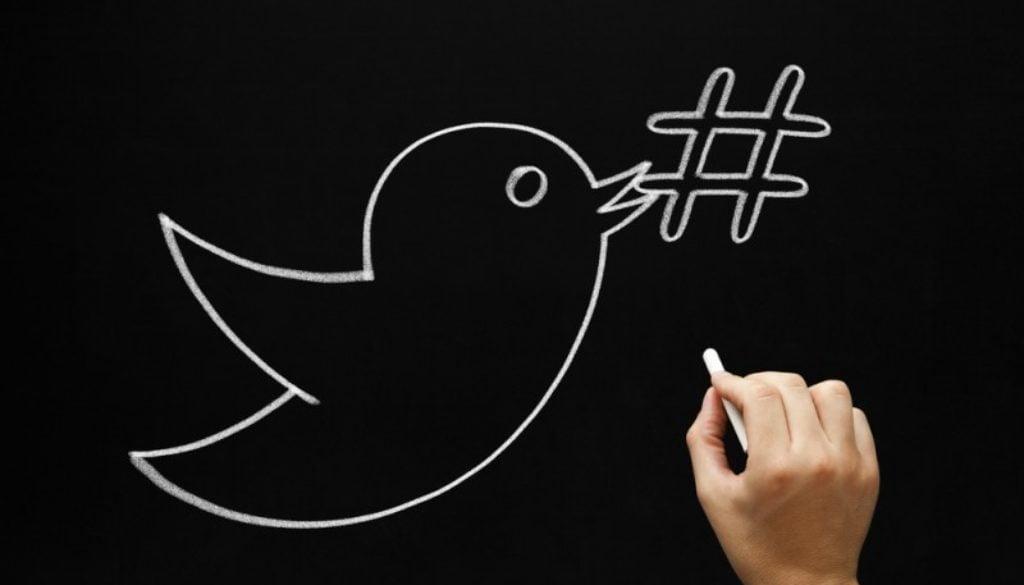 twitter chalkboard