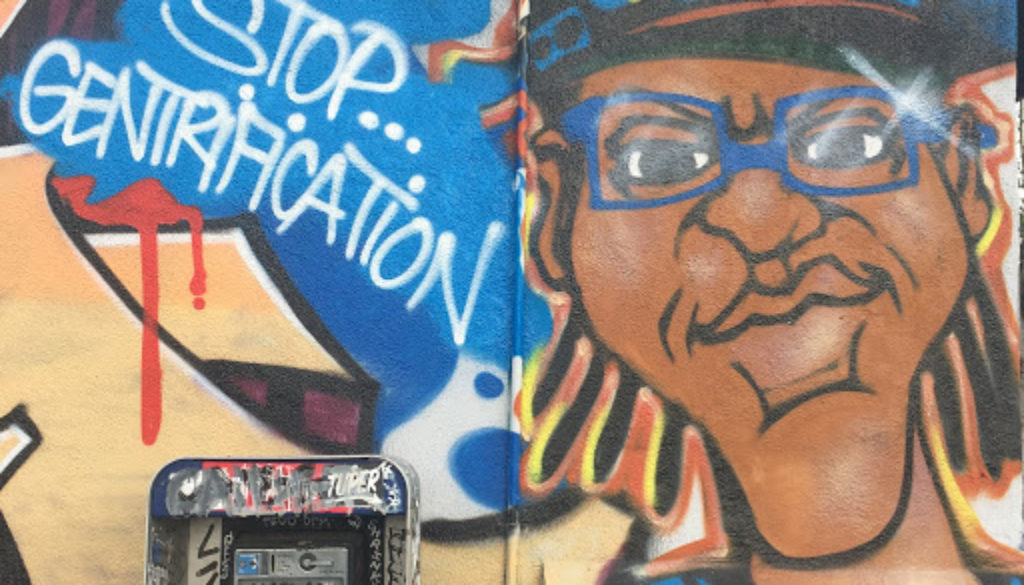 Gentrification Graffitti Urban Changes