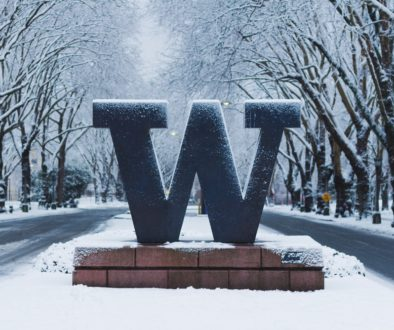 University of Washington Sign