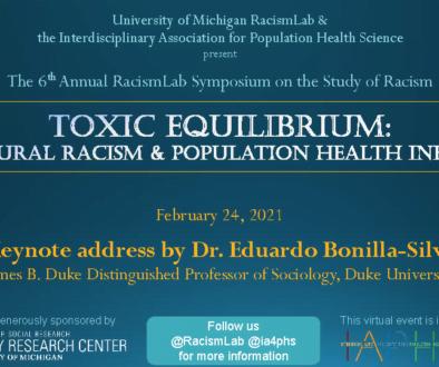 Racism Lab Flyer
