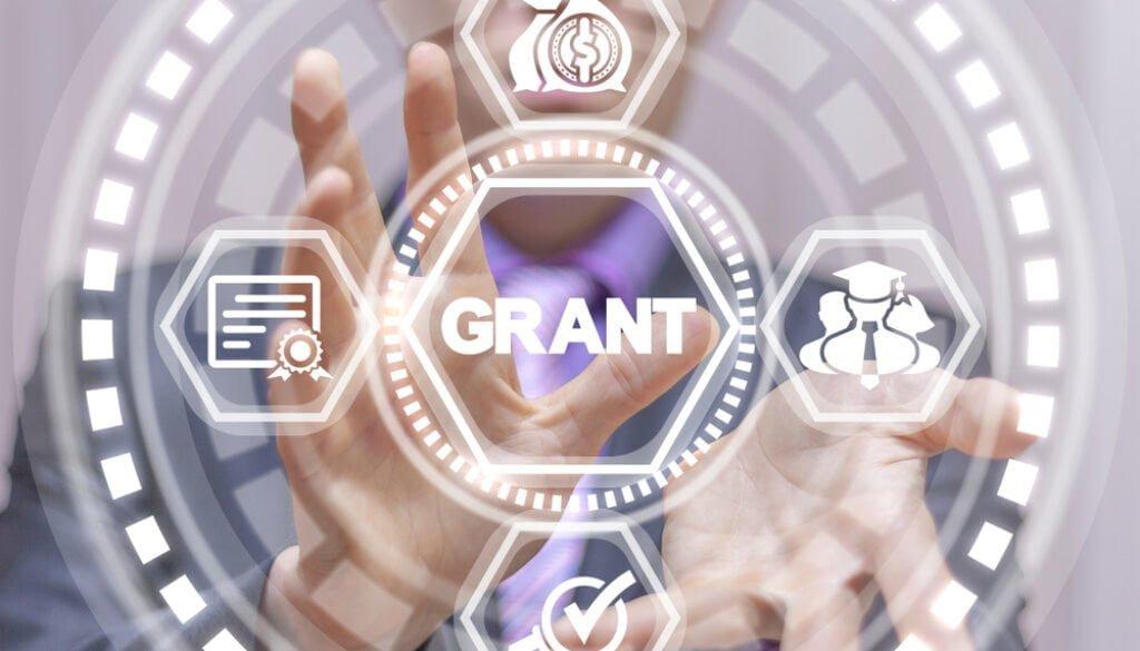 Grants,Business,Concept.,Grant,Education.,Financial,Funding,Conceptual,Virtual,Banner.