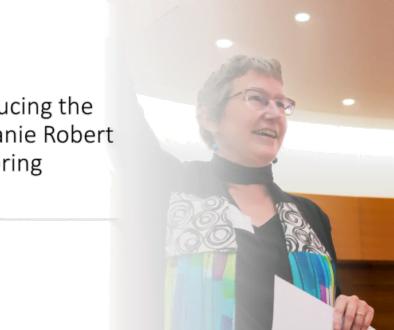 Introducing the Stephanie Robert Mentoring Award
